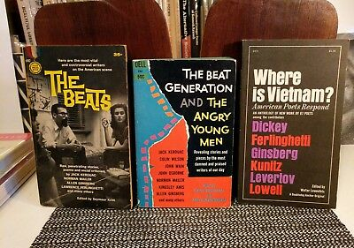 The Beats, Where is Vietnam?,  Beat Gen. & The Angry.. Kerouac Ginsberg Corso ++