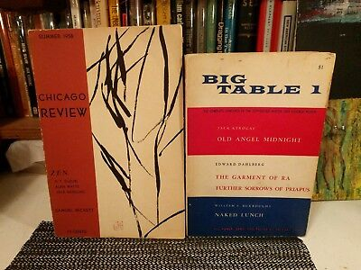 Jack Kerouac Chicago Review 1958, Big Table 1 w/William Burroughs Gregory Corso+