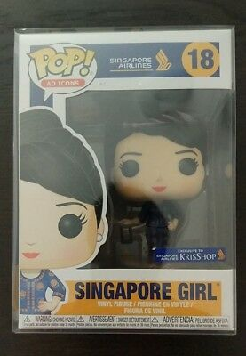 Funko POP! - Singapore Girl - AD Icons - Soft Protector - #18