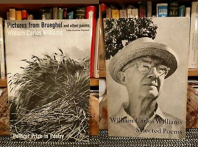 William Carlos Williams Lot Selected Poems Pictures from Brueghel New Directions