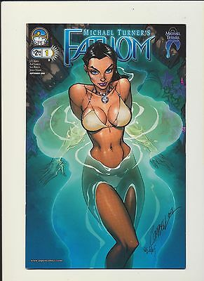 Fathom #1! J Scott Campbell Variant! 2008 Aspen! SEE SCANS AND PICS! RARE! WOW!
