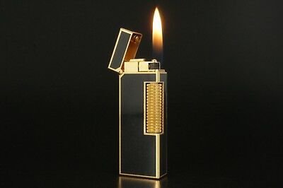 Dunhill Rollagas Lighter Refurbished NewOrings Working Over hauled Vintage #328