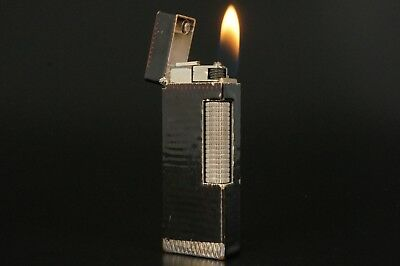 Dunhill Rollagas Lighter Refurbished NewOrings Working Over hauled Vintage #330