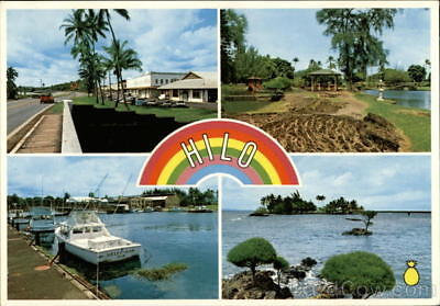 Hilo,HI The City of Rainbows Hawaii County Postcard Worldwide Distributors, Ltd