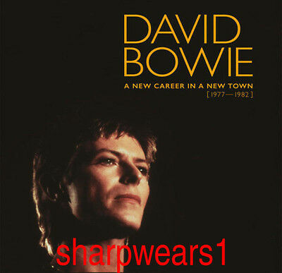 """David Bowie """"A New Career In A New Town """"11 CD Box Set Collection Hot + Gift"""