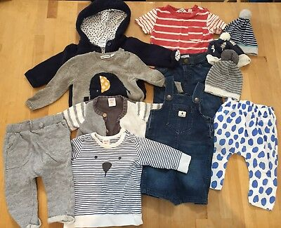 Boys Newborn 12 Piece Bundle. Size 6-12 Months. Seed & Country Road.