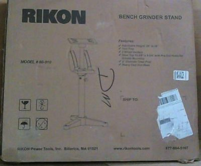 NEW Rikon Power Tools 80-910 Bench Grinder Stand