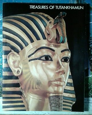 Treasures of Tutankhamun  book 1976 King Tut Metropolitan Museum Of Art