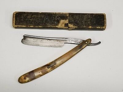 Vintage Wade & Butcher Sheffield Straight Edge Razor, with Box