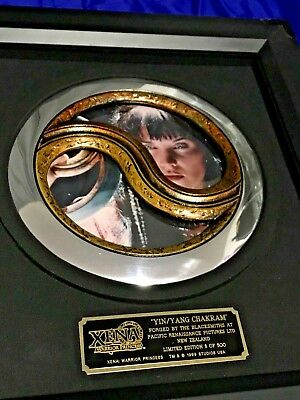 RARE XENA Limited Ed. OFFICIAL YING YANG CHAKRAM PROP REPLICA LOW #8 of 500