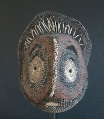 Yam Mask From Abelam Papua New Guinea