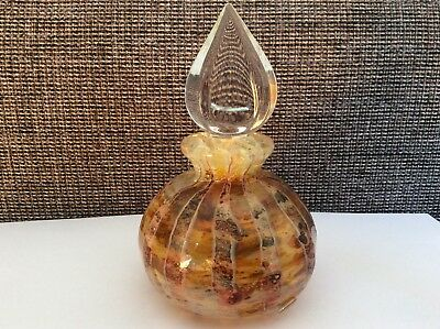 Richard Clements 12 cm Art Glass Perfume Bottle