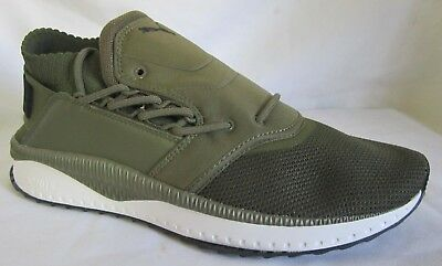 Puma Tsugi Shinsei Olive Green  Men Walking Shoes 11.5