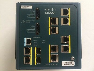 New Cisco IE 3000 industrial network switch