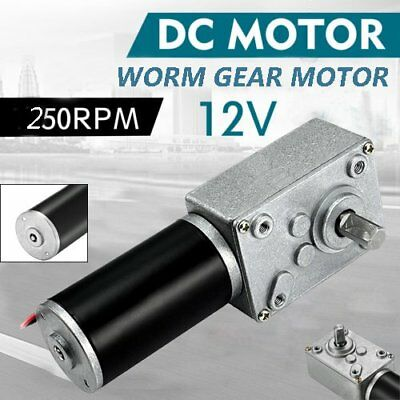 12V DC Motor High Torque Electric Power Turbo Reducer Worm Geared Reversible SK