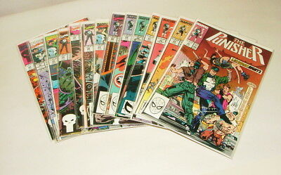 % 1990's Marvel The Punisher  Comic Book Collection Lot V-18