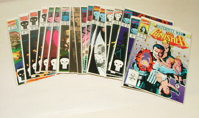 % 1990's Marvel The Punisher  Comic Book Collection Lot V-17