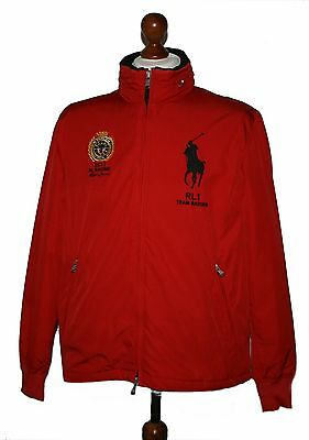 Polo Ralph Lauren Big Pony RL1 Team Racing Italia Giacca Vento TG. M 3c9921abed4