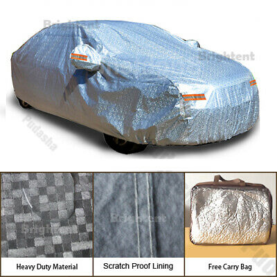 Universal Heavy Duty Car Cover 100% Waterproof 2 Layers Cotton Lining KCC0P