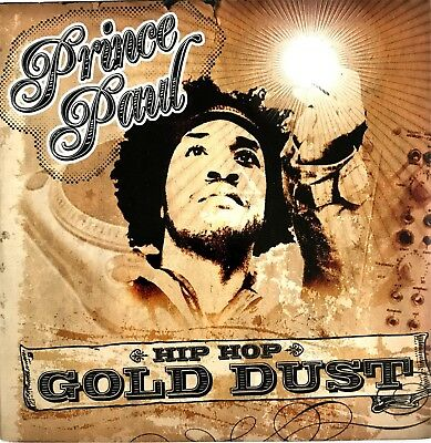Prince Paul : Hip Hop Gold Dust - [ Cd Album Promo ]