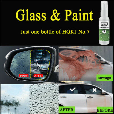 HGKJ Car Nano Hydrophobic Coating Parabrezza Vernice idrorepellente IT