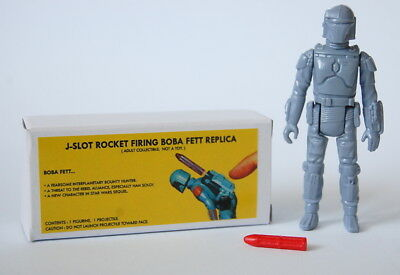 Star Wars Vintage J-Slot Rocket Firing BOBA Fett Custom Prototype