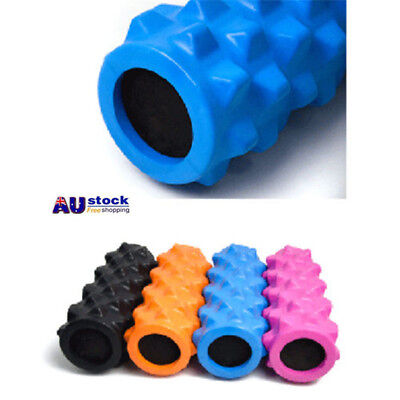 Foam Roller Yoga Grid Trigger Point Massage Pilates Physio Gym Exercise EVA PVC
