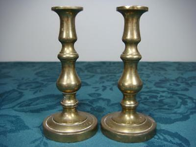 Small Brass ? Metal  Candle Holders