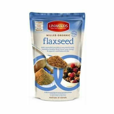Linwoods Organic Milled Flaxseed 425g (7 Pack)