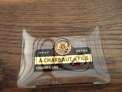 Un Cendrier Champagne A. Charbaut & Fils - Epernay