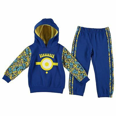 MINIONS DESPICABLE ME:  JOG SUIT,3/4,5/6yr,NEW WITH TAGS
