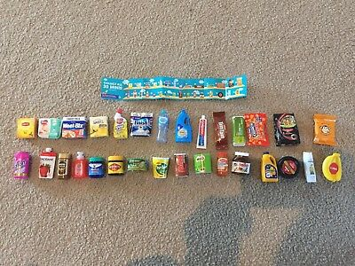 Coles Little Shop Mini Collectables All 30 Full Set FREE POSTAGE With Tracking