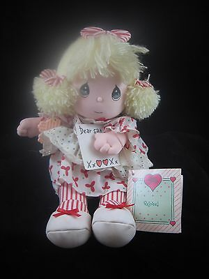 "PRECIOUS MOMENTS Musical Doll ""ANNALISE"" 1990 Christmas Edition, w/Tags"