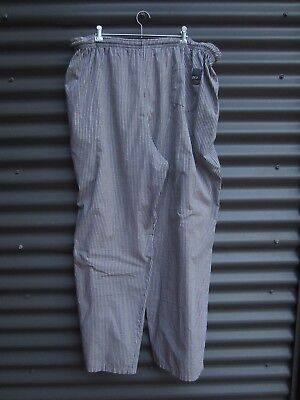 Pro Chef Clothing Black And White Check Chef Pants Label Size 3 X Large