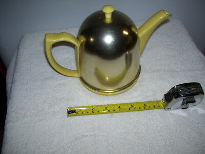 Hall  Blue Bouquet Tea/ Coffee Pot With Metal Cover