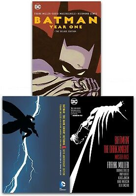 Batman Dark Knight Returns Collection 3 Books Set The Master Race