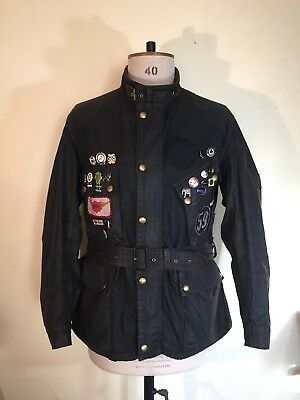 Vintage 1970's Belstaff Trialmaster Professional Ace Cafe Ton Up Isle Of Man Tt