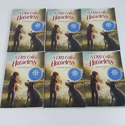 A Dog Called Homeless by Sarah Lean 6 Book Set Guided Reading Literature Circles