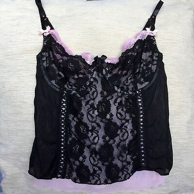 Lace Camisole With Underwires Size XS-S 10B ***NEW Without Tag***