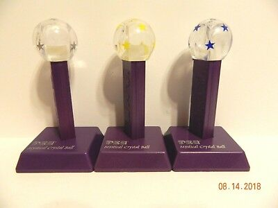 Set of 3 Star Globes with stands