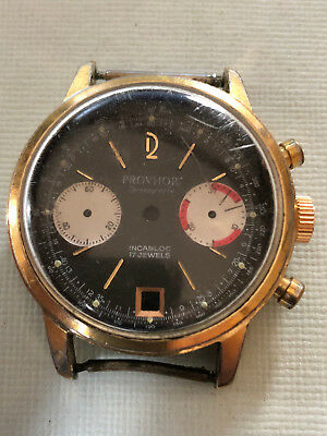 GP chronograph case +  Provhor dial  for Valjoux 7734 caliber
