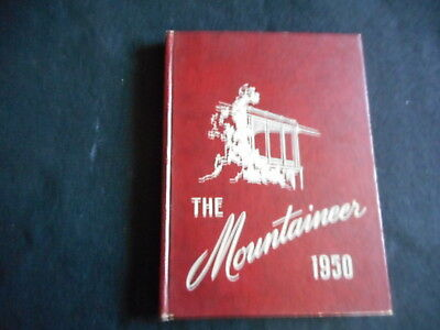 1950 Yearbook Annual The Mountaineer Blue Mountain College Girls School