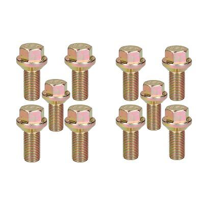 10 Pack M14 x 1.5 Trailer Wheel ConicaI Bolt Ifor Williams Indespension Knott