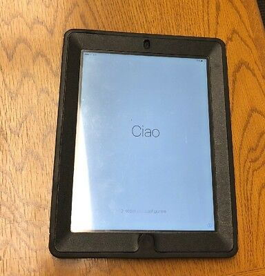 Apple iPad 3rd Gen 32GB, Wi-Fi+Cellular (Verizon),9.7in -Black W/ Case and Cable
