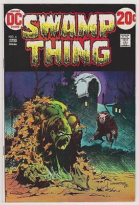 Swamp Thing #4, Near Mint Minus Condition'