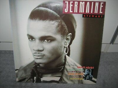 "LP Jermaine Stewart ""Say it again"" (10 Virgin Records), Pop der 80er!"