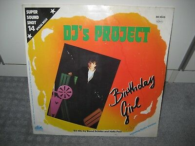 "Maxi DJ´s Project ""Birthday Girl"" (Night´n Day Records), Pop der 80er!"