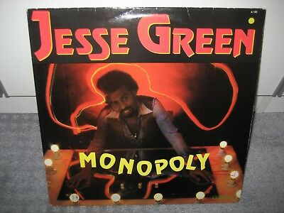 "LP Jesse Green ""Monopoly"" (Milan Records), Pop der 80er!"