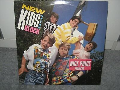 "LP New Kids On The Block ""Same"" (CBS Records), Pop der 80er!"