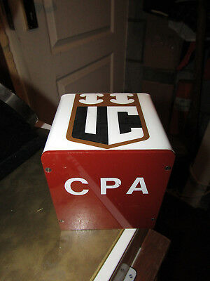 Vintage IND  COOPE CPA pale ale Bitter  Bar Top Pump Advertising Sign 70s?